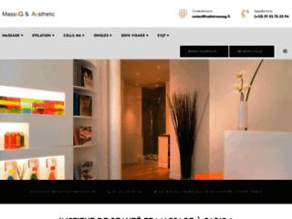 Pour un massage de qualité, faites confiance à Massag et Aesthétic