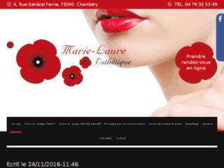 Détails : Marie-Laure Esthétique, l'institut de beauté pour homme et femme à Chambéry