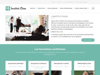 Détails : Institut Chun : Formation Réflexologie, Massage et Acupressure