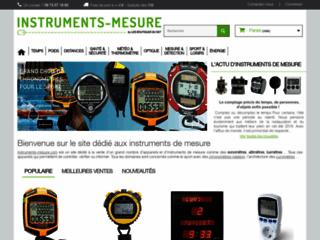 Détails : Instrument de mesure
