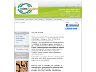 Détails : Inter-Action, Jardinier paysagiste à Mons, Charleroi et Nivelles