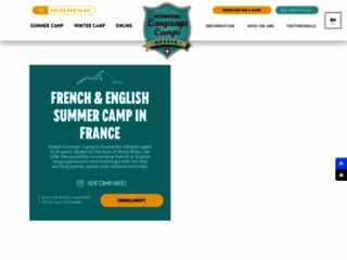 Camp d'été en France - Séjour linguistique en français