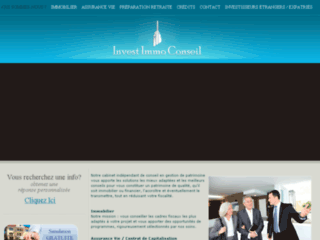 Détails : Invest Immo - Conseil en Gestion de Patrimoine Paris Lyon