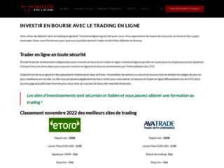 Investir sur le Forex en ligne