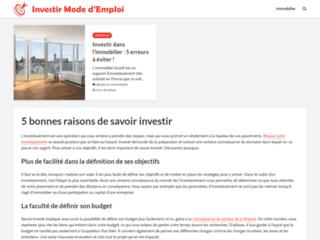 Investirmodedemploi.com