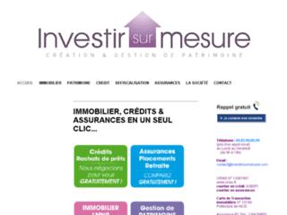 Investir sur Mesure
