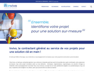 Invivo France: mieux conduire vos projets immobiliers