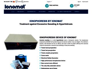 Traitez efficacement l'hyperhydrose avec Ionomat