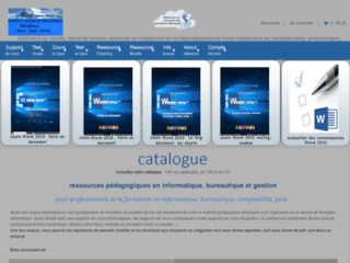 iOs, Ressources pédagogiques en informatique et bureautique