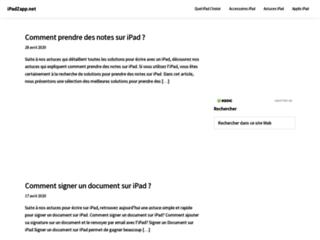 Détails : iPadZapp