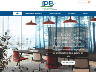 IPB Office Solutions : Spécialiste de l'aménagement d'espaces de bureaux à Toulon