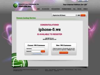 Détails : iPhone 5