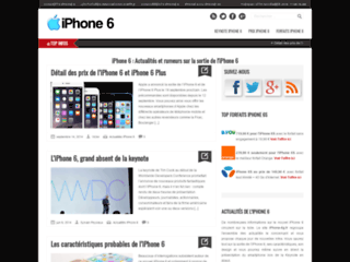 iPhone 6 : videos, concepts et date de sortie