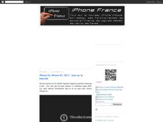 iPhone 4, iPhone 3GS, iPad : le blog iPhone-France