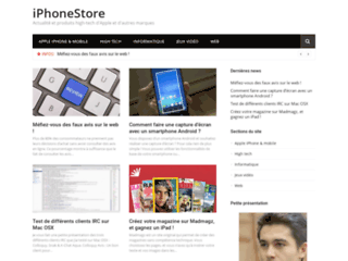 Détails : iPhoneStore : Accessoires et coques pour iPhone 5