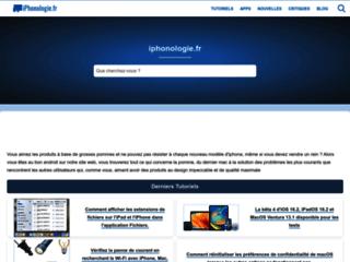 Détails : iPhonologie : le site 100% iPhone, iPad et iOS