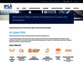 Détails : Institut Polytechnique des Sciences Avancées