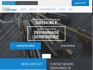 Enseigne de serruriers compétents à Grenoble