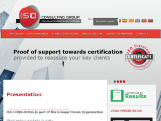 Détails : La certification iso 9001 avec Iso Consulting Group