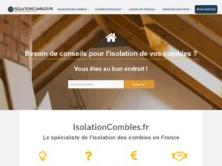 Détails : L'isolation intérieur des murs