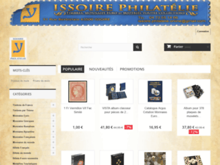 Issoire philatélie, le site du collectionneur