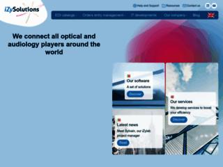 Détails : iZySolutions, leader européen de logiciels optiques