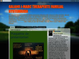 Galano J-Marc thérapeute familial systémicien