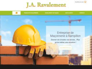 J.A. Ravalement à Rampillon