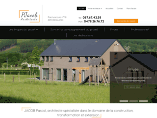 Architecte maison individuelle à Ans
