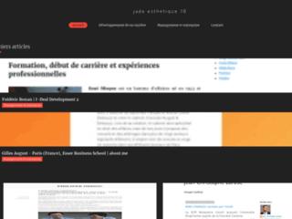 Détails : Jade Esthétique, soins visage et corps et onglerie à Champagney en Haute-Saône