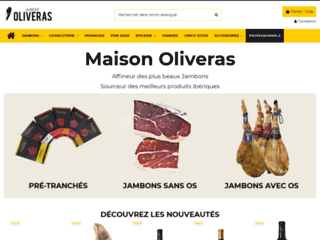 Détails : Jambons Oliveras
