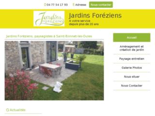Jardins Foréziens, entreprise du paysage, Saint-Bonnet-les-Oules