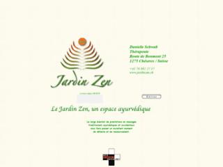 Massages et soins ayurvédiques au Jardin Zen à Nyon, Vaud, Suisse