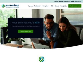 Détails : Jean Lelièvre Syndic