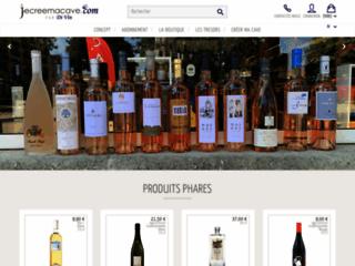 Achat de vin bio - Jecreemacave