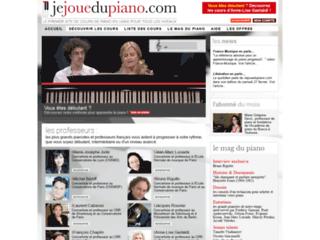 Cours de piano classique sur jejouedupiano.com