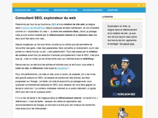 Jérémy Vaucher : référencement web, création de site
