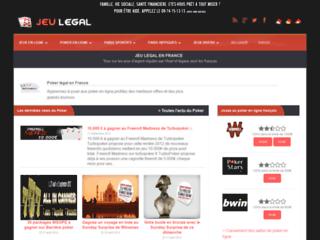 Détails : Jeu Legal France