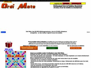 Détails : Telecharger scrabble et jeux de lettres.