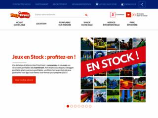 Détails : Location et Vente de jeux gonflables