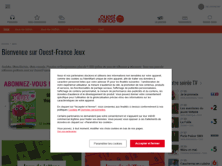 Détails : Les jeux Ouest-France