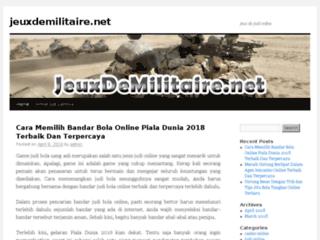Détails : Jeux de militaire