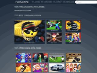 jeuxflashgaming.com : un site de jeux gratuits
