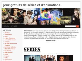 Jeux gratuits de séries, films et animations