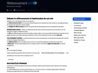 Détails : JMP Concept, référencer votre site web