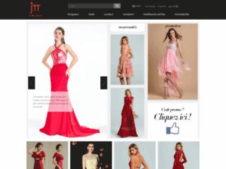 Boutique en ligne de robe habillée pas cher faite sur mesure