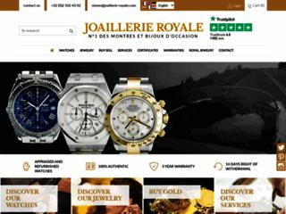 Détails : Joaillerie Royale : montre de luxe et bijoux en Belgique