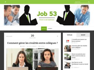 Job 53 - Les emplois à Laval