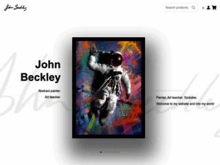 artiste peintre abstrait
