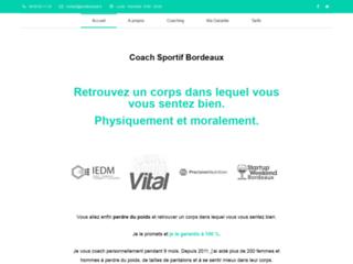 Détails : Coach sportif, diététicien-nutritionniste, massage | Jonathan